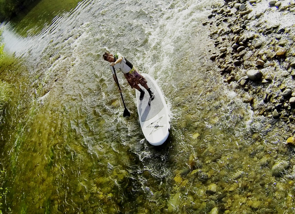 Aventure en Stand Up Paddle