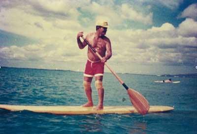 Histoire du paddle