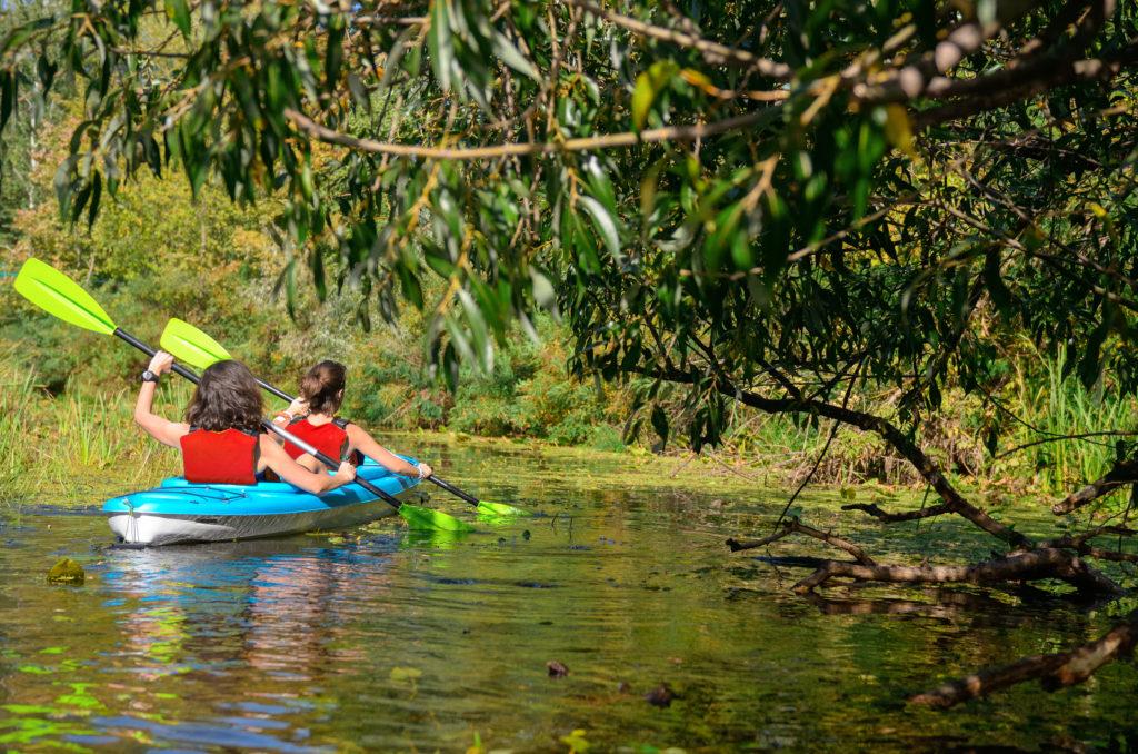Location kayak en famille